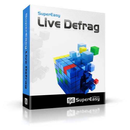 Logiciel défragmentation SuperEasy Live Defrag