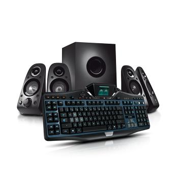 Sélection de packs Logitech en promo - Ex : Pack G19S Gaming Keyboard + enceintes Z506