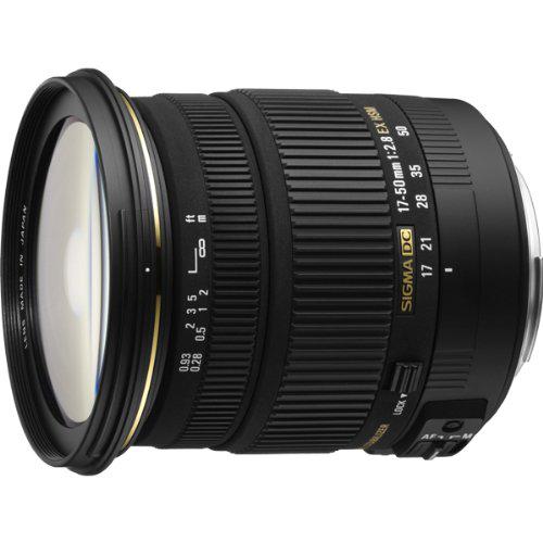 Objectif Sigma 17-50 f/2.8 capteur APS-C Canon et Nikon
