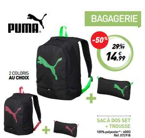 Set sac à dos + trousse Puma