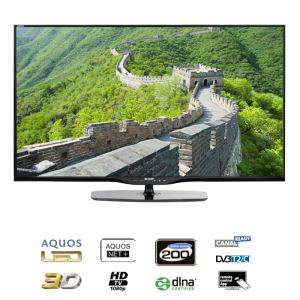 TV Sharp LED 3D -  LC-60LE651E 60""