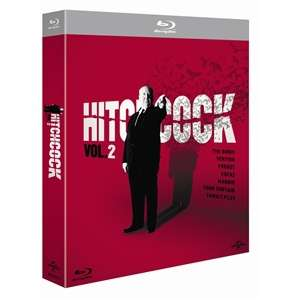 Coffret 7 Blu Ray Hitchcock volume 2