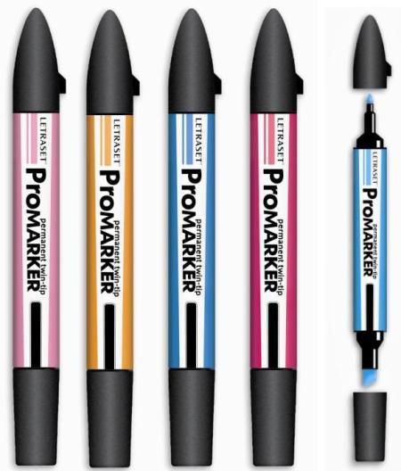 Feutre à Alcool Promarkers - plusieurs coloris (5,99€ de livraison)