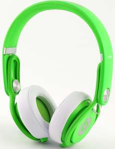Casque audio Beats Mixr (jaune, rose, vert)