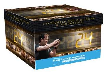 [Offre Adhérents] 24 heures chrono Coffret intégrale des Saisons 1 à 9 DVD (+30€ de bon d'achat)