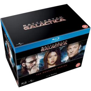 Battlestar Galactica l'intégrale en blu-ray (en anglais sous-titré français)