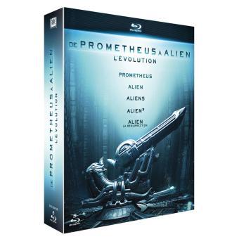 Coffret Blu-ray – De Prometheus à Alien, l'évolution (versions longues incluses)