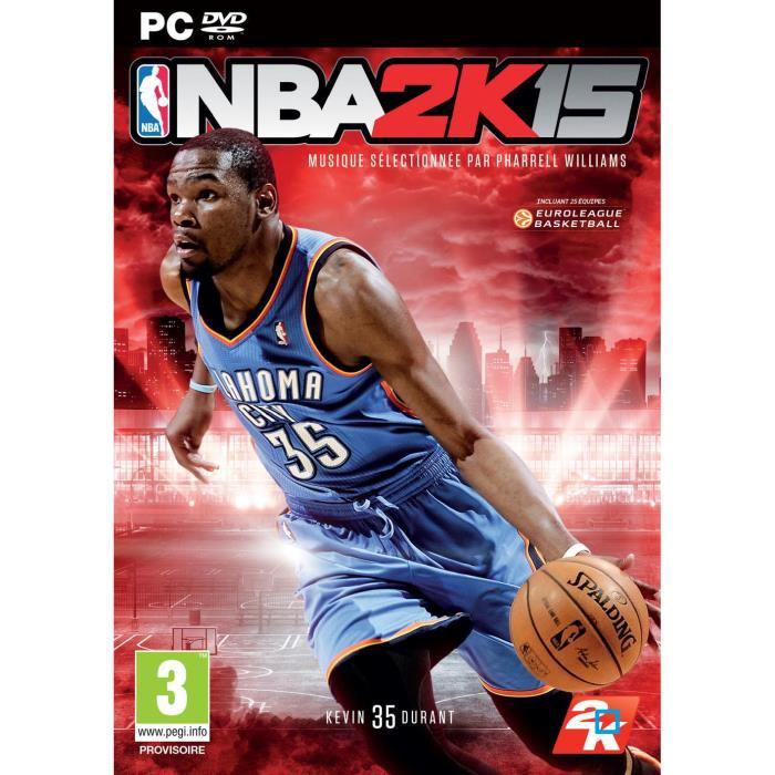 [Précommande] Jeu NBA 2K15 sur PC (dématérialisé)