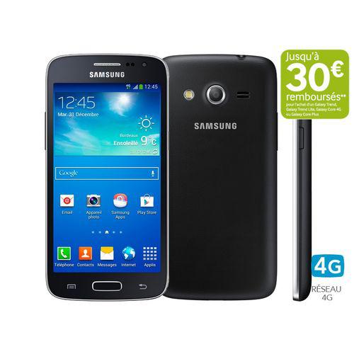 Smartphone Samsung  Galaxy Core 4G noir (30€ ODR)