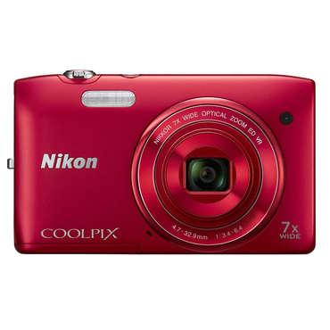 Appareil photo Nikon S3500 (Plusieurs coloris)