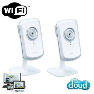 Lot de 3 Caméras IP sans fil D-Link DCS-930L à 69.99€ ou de lot de 2 Caméras