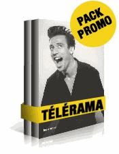 Sélection de packs de livres à prix cassés - Ex : Pack Télérama - Nos années culture, Tome 1&2