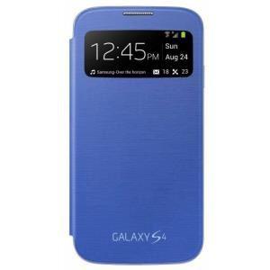 Etui Samsung S View Cover Galaxy S4 Bleu (ODR de 20€ déduite)