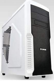 Boitier PC ATX Zalman Z3 Plus - Blanc