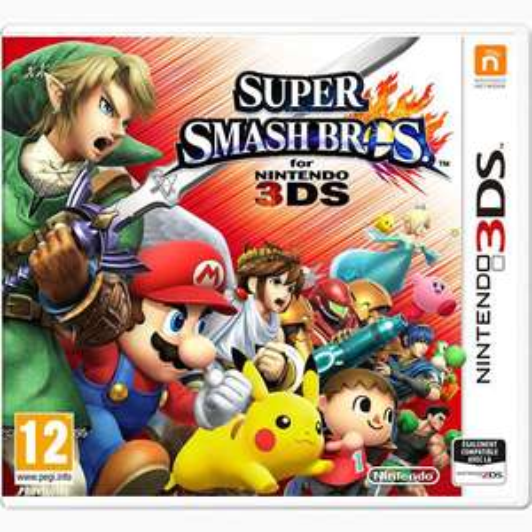 Super Smash Bros sur Nintendo 3DS