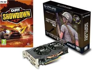 Carte graphique SAPPHIRE HD7850 + 2 jeux (Dirt Showdown ET avec Sleeping dogs)