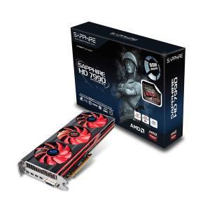 Carte graphique Sapphire AMD Radeon HD7990 6Go - Reconditionnée