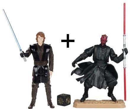 Une figurine Star Wars ou Little Petshop acheté = 1 offerte - Ex : Figurine Anakin 30 Cm + une autre au choix