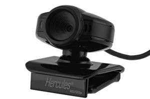 Webcam Hercules HD Exchange noir