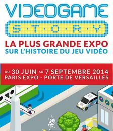 Entrée pour le Videogame Story Paris Expo Porte de Versailles