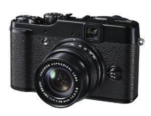 """Appareil photo numérique Fujifilm FinePix X10 12 Mpix Zoom Optique 4x Ecran LCD 2,8"""" (7,1 cm) Noir"""