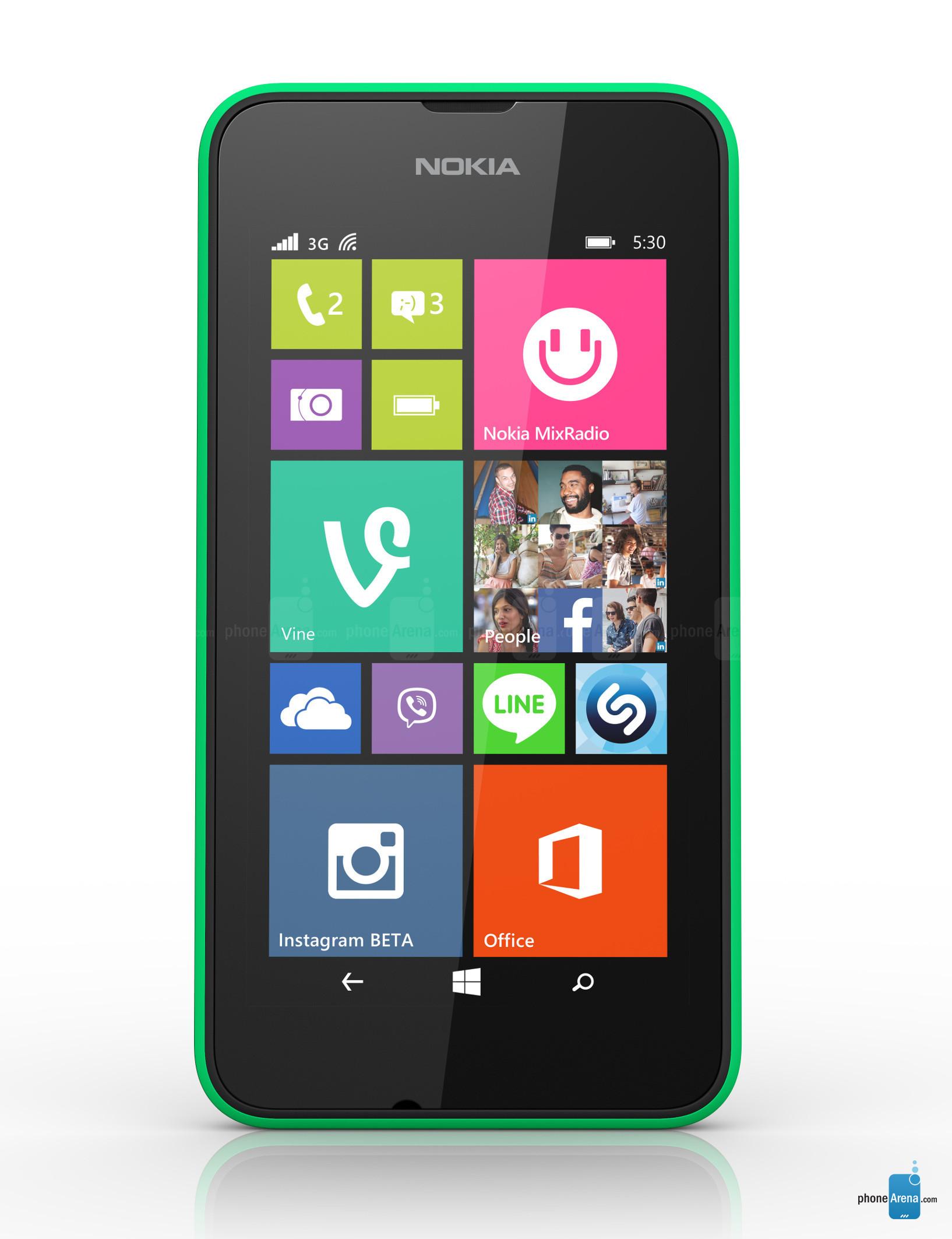 Smartphone Nokia Lumia 530 (avec ODR 30€)