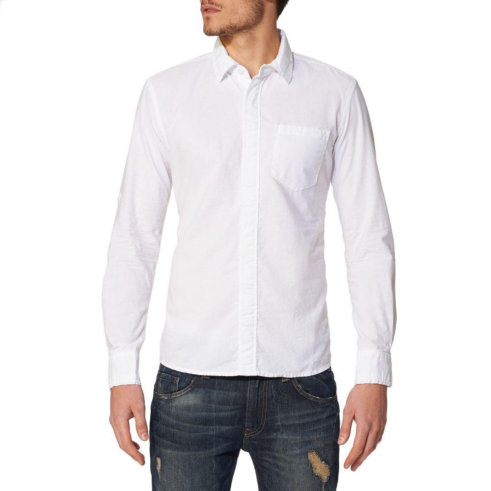 Sélection d'articles en promo - Ex : Chemise blanche manches longues