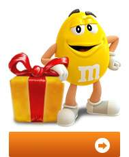 15€ d'achat de M&M's à personnaliser pour 3,50€ (minimum d'achat : 29.90€)
