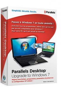 Parallels Desktop : logiciel de migration vers Windows 7