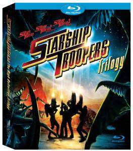Coffret Blu-ray Trilogie Starship Troopers