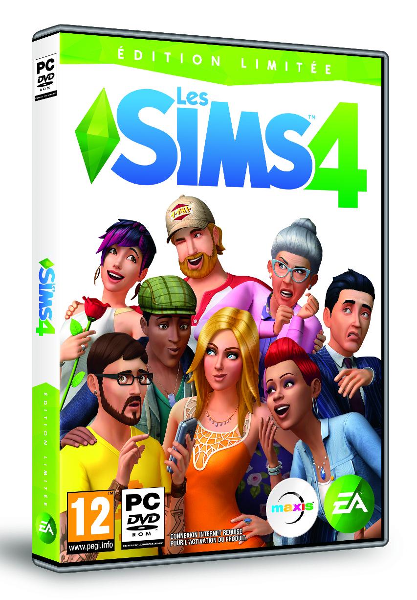 Jeu Les Sims 4 - Édition Limitée sur PC