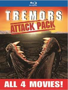 Coffret Blu-ray Tremors Attack Pack (Tremors 1-4 Collection)