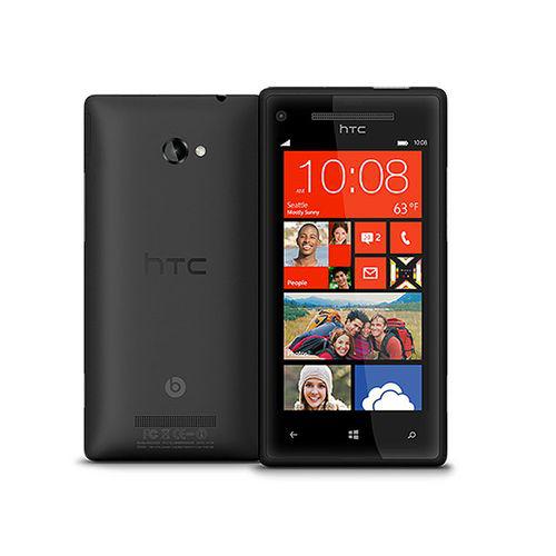 "Smartphone HTC 8X Noir, 4.3"" HD"