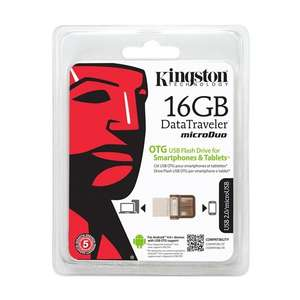 Clef USB Kingston microDuo USB 2.0 OTG DataTraveler 16Go