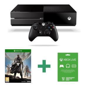 Précommande : Xbox One + Destiny + Abonnement Live 1 an