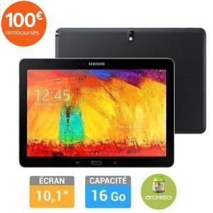"""Tablette Samsung Galaxy Note 10"""" Edition 2014 - Noir (Avec ODR 100€ + bons d'achats)"""