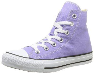 Paire de chaussures converse Chuck Taylor All Star Hi - Lavande (Taille 36 et 39)