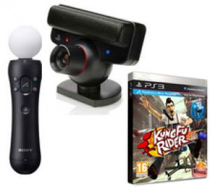 Caméra Playstation Eye + Playstation Move + Jeu Kung Fu Rider