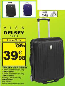 Valise Visa Delsey Paris / Beauty Case