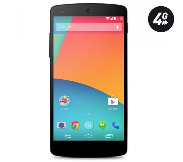 Smartphone LG Nexus 5 16Go 4G (Avec ODR de 30€)