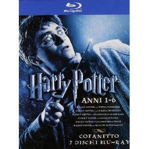 Coffret Blu-ray Harry Potter Années 1 à 6 + Harry Potter et les reliques de la mort (Partie 1 et 2)
