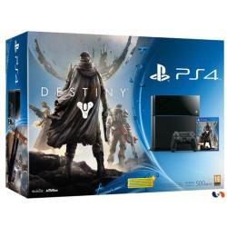 Pack console PS4 noire 500go + le jeu Destiny