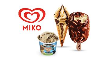 Glaces Miko Magnum, Cornetto 100% remboursées, Ben & Jerry's à 2€