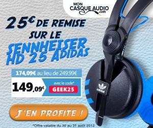 Sennheiser HD 25 Adidas
