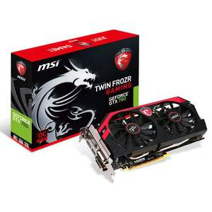 Carte graphique MSI - GeForce GTX 760 Twin Frozr Gaming 2Go