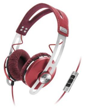 Casque audio Sennheiser Momentum On-Ear Rouge