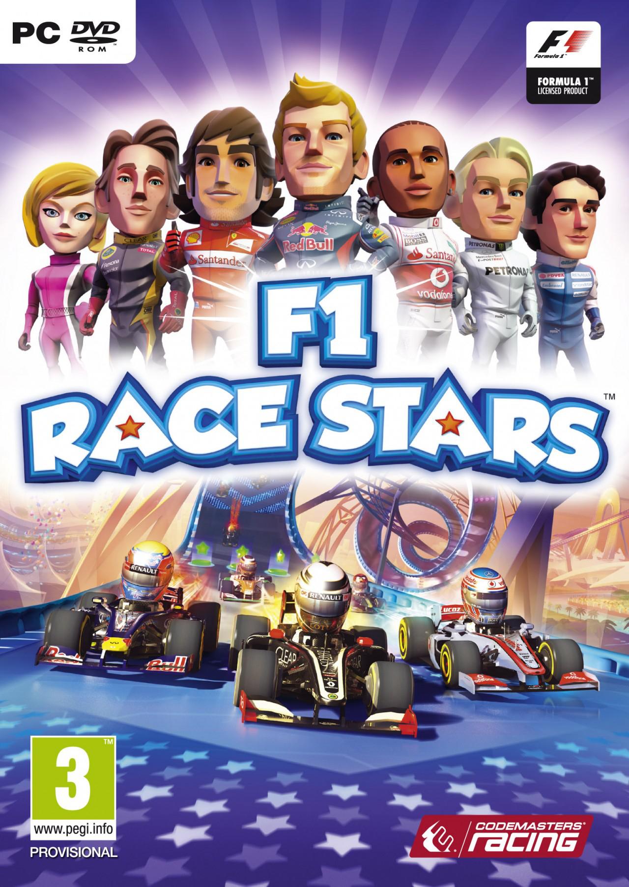 F1 Race Stars sur PC à 4.74€ et DLC