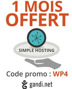 Un mois gratuit hébergement Simple Hosting