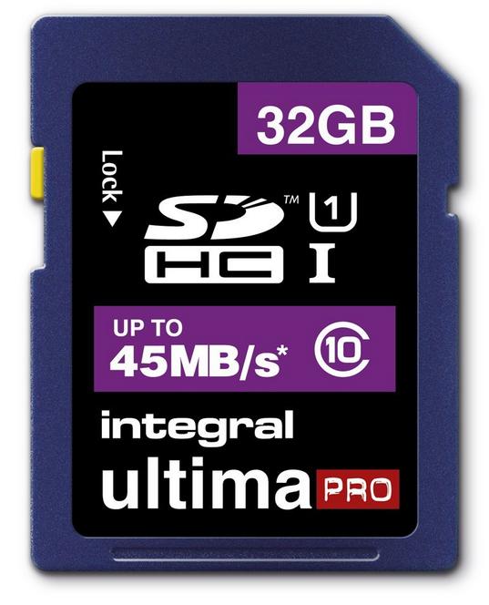 Carte mémoire micro SDXC 64 Go à 26€ ou Integral Carte SDHC Class 10 32 Go