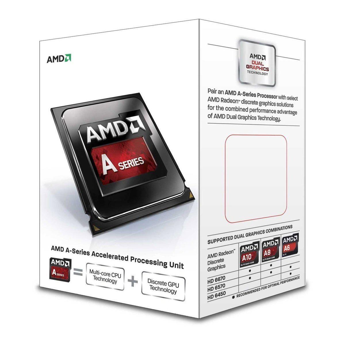 Processeur AMD A-Series A8-7600
